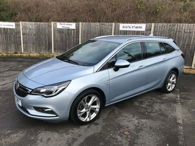 Vauxhall Astra Estate 1.4i Turbo SRi Nav Sports Tourer 5dr