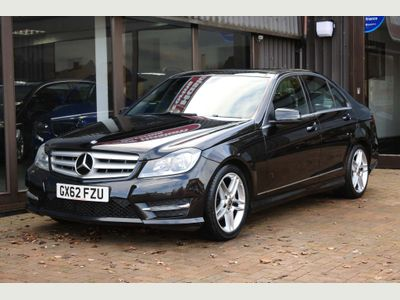 Mercedes-Benz C Class Saloon 2.1 C200 CDI BlueEFFICIENCY AMG Sport 7G-Tronic Plus 4dr (Map Pilot)