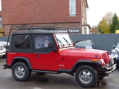 Jeep Wrangler SUV 2.5 Hard Top 4x4 3dr