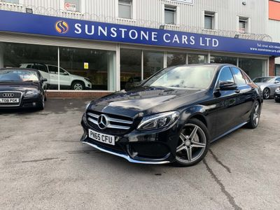 Mercedes-Benz C Class Saloon 2.1 C300dh AMG Line G-Tronic+ (s/s) 4dr