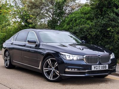 BMW 7 Series Saloon 3.0 730Ld Exclusive Auto (s/s) 4dr
