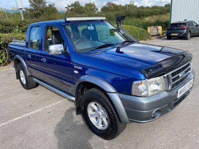 Ford Ranger Pickup 2.5 TDdi XLT Thunder Double Cab Crewcab Pickup 4dr