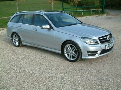 Mercedes-Benz C Class Estate 2.1 C250 CDI AMG Sport Edition (Premium Plus) 7G-Tronic Plus 5dr
