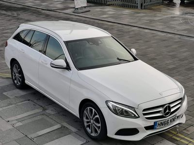 Mercedes-Benz C Class Estate 1.6 C200d Sport G-Tronic+ (s/s) 5dr