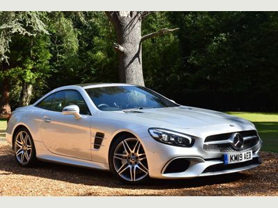 Mercedes-Benz SL Class Convertible 4.7 SL500 V8 AMG Line (Premium) G-Tronic+ (s/s) 2dr