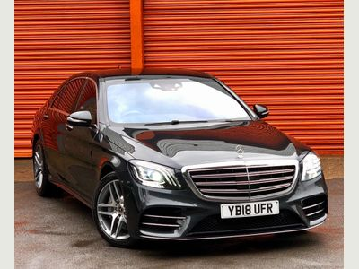 Mercedes-Benz S Class Saloon 3.0 S500L MHEV AMG Line (Executive, Premium) G-Tronic+ 4MATIC (s/s) 4dr