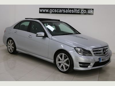 Mercedes-Benz C Class Saloon 3.0 C350 CDI BlueEFFICIENCY Sport 7G-Tronic 4dr (COMAND)