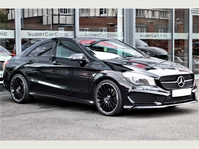 Mercedes-Benz CLA Class Coupe 2.1 CLA220 CDI AMG Sport COMAND 7G-DCT (s/s) 4dr