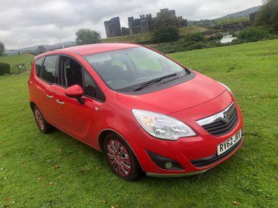 Vauxhall Meriva MPV 1.7 CDTi Exclusiv Auto 5dr (a/c)