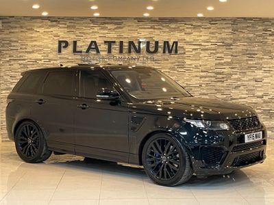 Land Rover Range Rover Sport SUV 5.0 V8 SVR (s/s) 5dr