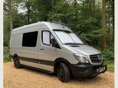 Mercedes-Benz SPRINTER 313 CDI Van Conversion 2.1 CDI 313 High Roof Diesel Manual (LWB)(129 bhp)