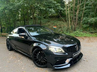 Mercedes-Benz C Class Coupe 4.0 C63 V8 BiTurbo AMG (Premium Plus) SpdS MCT (s/s) 2dr