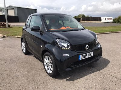 Smart fortwo Coupe 0.9T Passion (s/s) 2dr