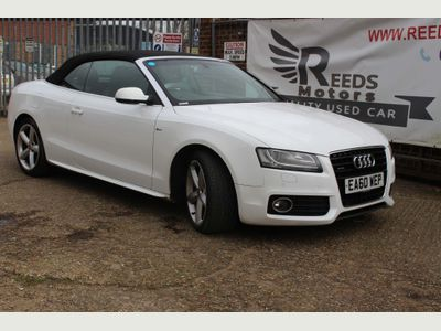 Audi A5 Cabriolet Convertible 3.0 TDI S line Cabriolet S Tronic quattro 2dr