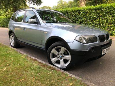 BMW X3 SUV 3.0 i SE 5dr
