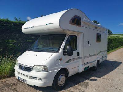 Bessacarr E445 Van Conversion Large Rear Washroom