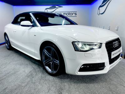 Audi A5 Cabriolet Convertible 2.0 TDI S line Special Edition Cabriolet 2dr