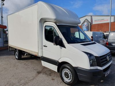 VOLKSWAGEN CRAFTER Luton 2.0 TDI BlueMotion Tech (EU6) CR35 Chassis Cab 2dr (EU6, LWB)