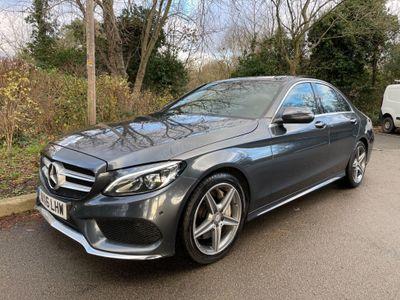 Mercedes-Benz C Class Saloon 2.1 C300dh AMG Line (Premium Plus) G-Tronic+ (s/s) 4dr
