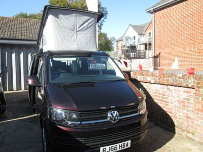 Volkswagen California Beach TDI BMT Coach Built campervan