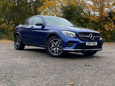 Mercedes-Benz GLC Class Coupe 3.0 GLC43 V6 AMG (Premium Plus) G-Tronic 4MATIC (s/s) 5dr