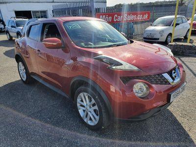 Nissan Juke SUV 1.2 DIG-T Acenta (s/s) 5dr EU5