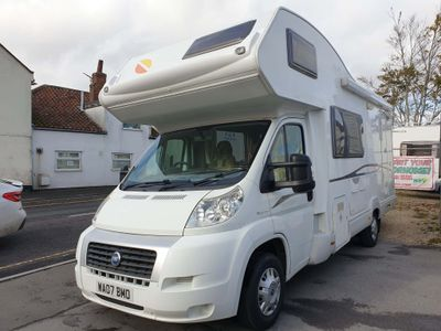 CI ON HOLD Coach Built Fiat ducato 2.3m-jet