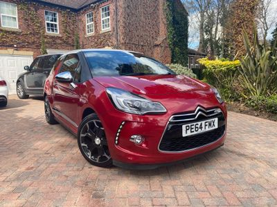 Citroen DS3 Hatchback 1.6 BlueHDi DSport Plus Blue 3dr