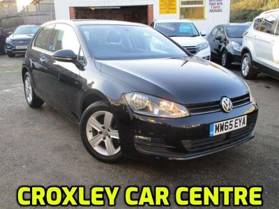Volkswagen Golf Hatchback 1.6 TDI BlueMotion Tech Match Edition (s/s) 3dr