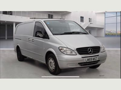 Mercedes-Benz Vito Panel Van 2.1 115CDI Dualiner Basic Long Panel Van LWB 5dr