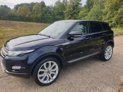 Land Rover Range Rover Evoque SUV 2.2 SD4 Pure (Tech) AWD 5dr