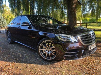 Mercedes-Benz S Class Saloon 3.0 S350d AMG Line (Premium) G-Tronic+ (s/s) 4dr