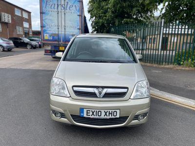 Vauxhall Meriva MPV 1.6 i 16v Design Easytronic 5dr (a/c)