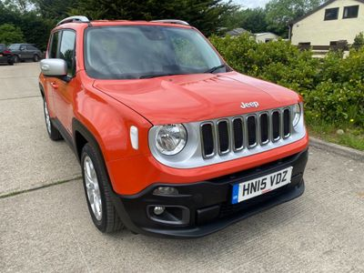 Jeep Renegade SUV 1.4T MultiAirII Limited (s/s) 5dr