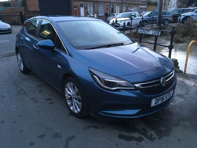 Vauxhall Astra Hatchback 1.4i Turbo Design 5dr