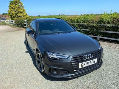 Audi A4 Avant Estate 2.0 TFSI 40 Black Edition Avant S Tronic (s/s) 5dr