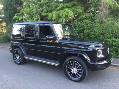 Mercedes-Benz G Class SUV 3.0 G350d AMG Line (Premium) G-Tronic+ 4WD (s/s) 5dr