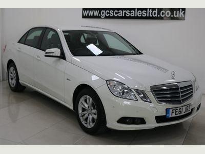 Mercedes-Benz E Class Saloon 2.1 E220 CDI BlueEFFICIENCY SE Edition 125 (s/s) 4dr