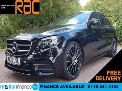 Mercedes-Benz E Class Saloon 2.0 E220d AMG Line Night Edition (Premium) G-Tronic+ (s/s) 4dr