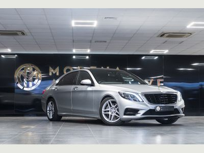 Mercedes-Benz S Class Saloon 3.5 S400L h AMG Line (Executive) 7G-Tronic Plus (s/s) 4dr