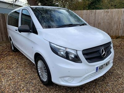 Mercedes-Benz Vito Minibus 2.1CDi Blue Tourer Automatic 119 8 seats