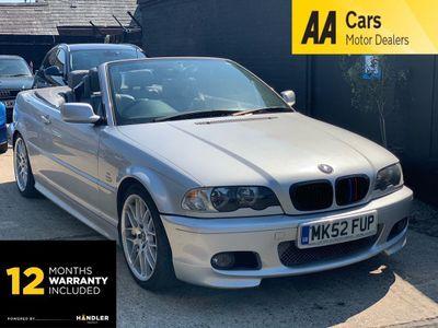 BMW 3 Series Convertible 2.5 325Ci Sport 2dr