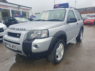 LAND ROVER FREELANDER SUV 2.0 TD4 Freestyle Hard Top 3dr