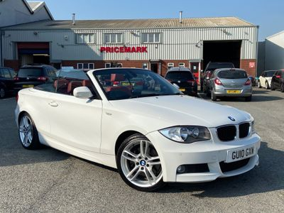 BMW 1 Series Convertible 2.0 123d M Sport 2dr