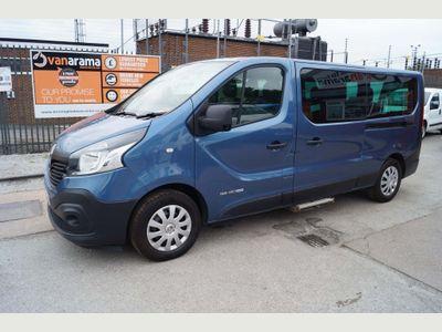 Renault Trafic Minibus 1.6DCi 125 9 SEATER MINIBUS LWB (EURO6)