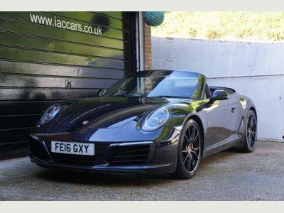 Porsche 911 Convertible 3.0T 991 Carrera S PDK (s/s) 2dr