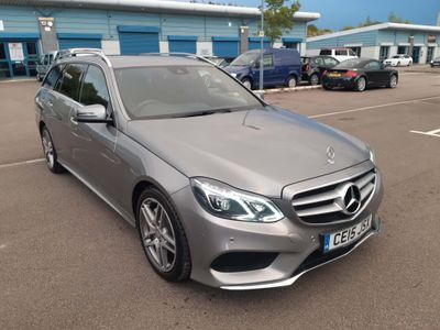 Mercedes-Benz E Class Estate 3.0 E350 CDI BlueTEC AMG Line 9G-Tronic Plus 5dr