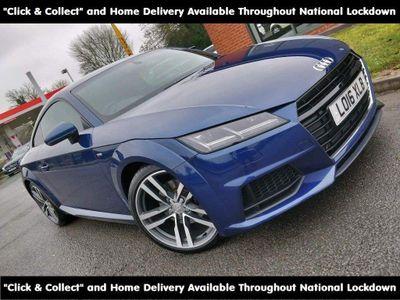 Audi TT Coupe 1.8 TFSI S line (s/s) 3dr