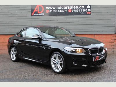 BMW 2 Series Coupe 2.0 228i M Sport Auto (s/s) 2dr
