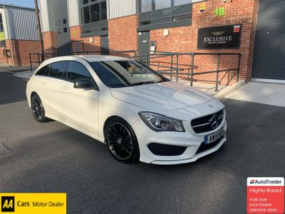 Mercedes-Benz CLA Class Estate 2.1 CLA220 CDI AMG Sport Shooting Brake 7G-DCT (s/s) 5dr
